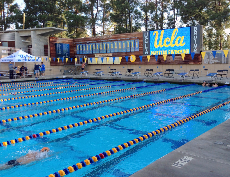 UCLA Swim Meet