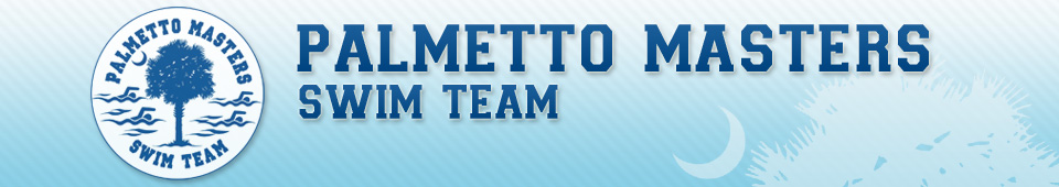 Palmetto Masters Swim Team Banner