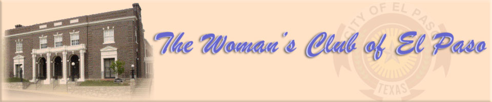 Womans Club of El Paso Banner