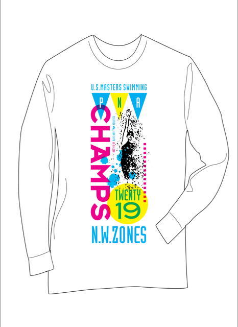 2019 PNA and Zones Championship Meet Official Apparel
