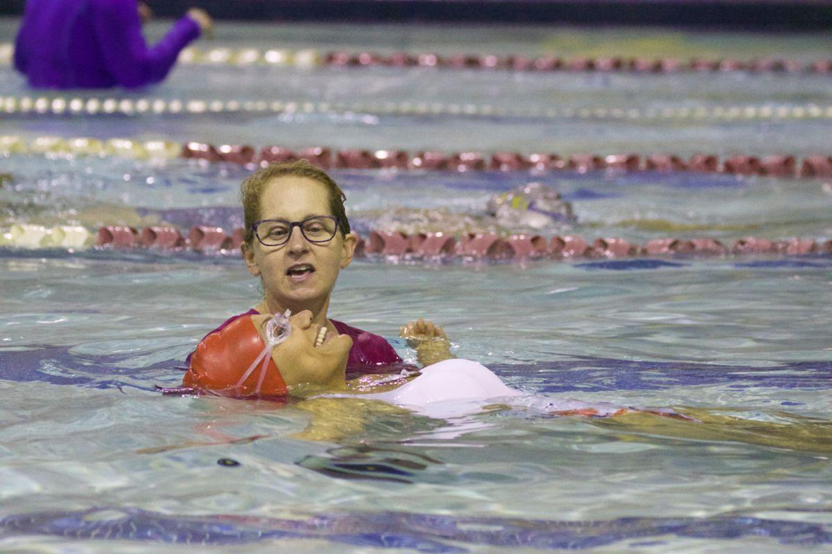 Milwaukee Adult Learning to Swim