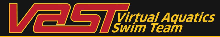 Virtual Aquatics Swim Team Banner