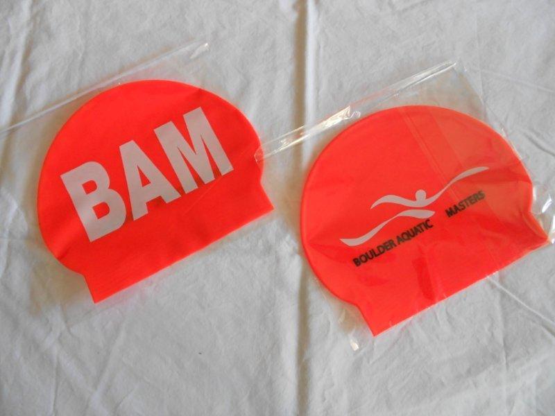 Orange Swim Cap