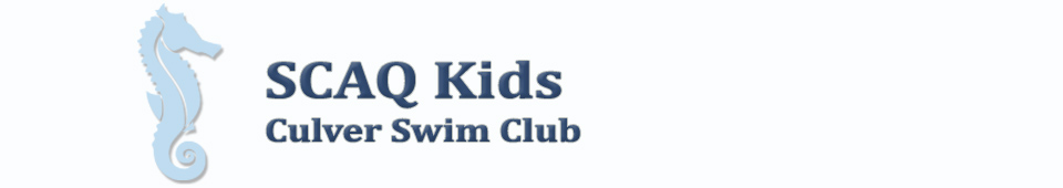 SCAQ Kids / Culver Swim Club Banner