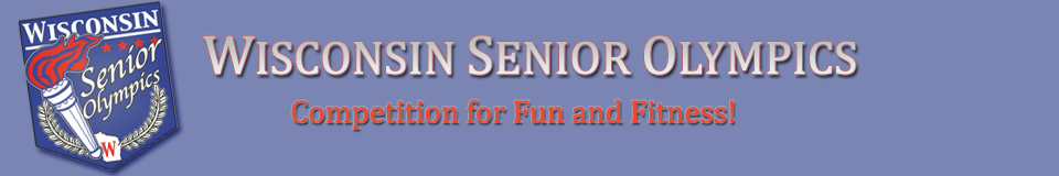 Wisconsin Senior Olympics Banner