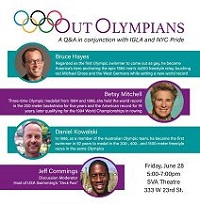 Olympian Q&A graphic