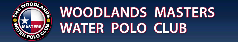 The Woodlands Masters Water Polo Club Banner