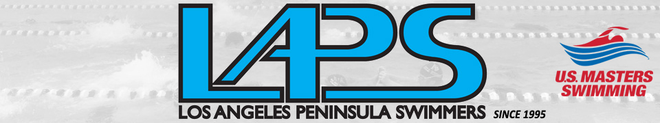 Los Angeles Peninsula Swimmers Banner