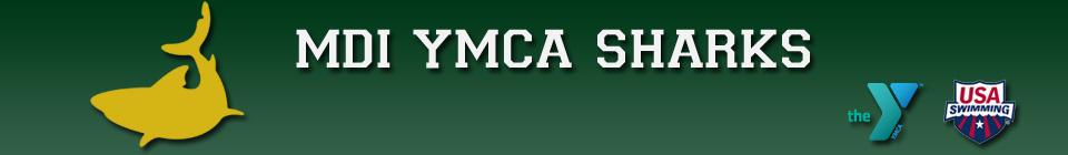 MDI YMCA Sharks Banner