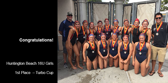 16U Girls Turbo Cup Winners
