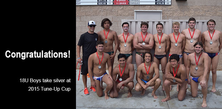 18U Boys take silver at Tune-Up Cup