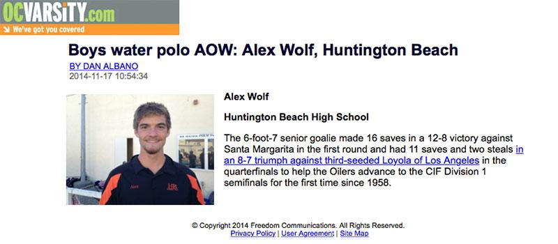 Alex Wolf