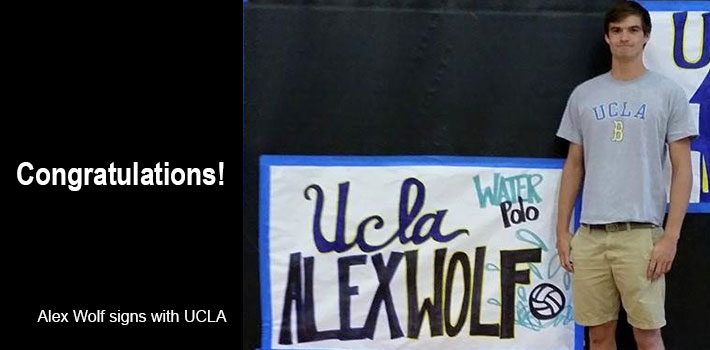 Alex Wolf signs with UCLA