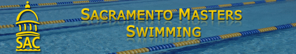 Sacramento Masters Swimming  Banner
